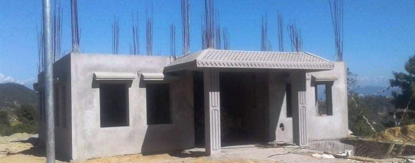 नमोबुद्धमा थप ५ वटा वडा कार्यालय भवन निर्माण हुदै