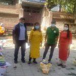 कोरोना कहरमा माओवादी केन्द्र बनेपा नगरसमिति मजदुरको सारथी,समस्यामा परेकालाई राहत