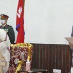 देउवाद्वारा प्रधानमन्त्रीको सपथ ग्रहण,काँग्रेसका २ र माओवादीका २ मन्त्रीमा नियुक्त